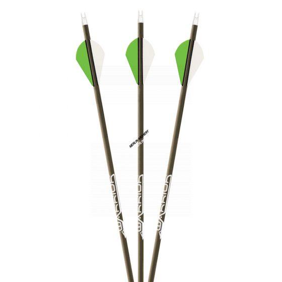 Gold TipWarrior Arrows - With Vanes