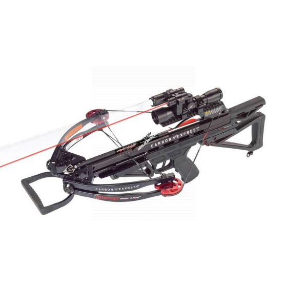 Carbon Express Varmint Hunter 175lbs Crossbow Set