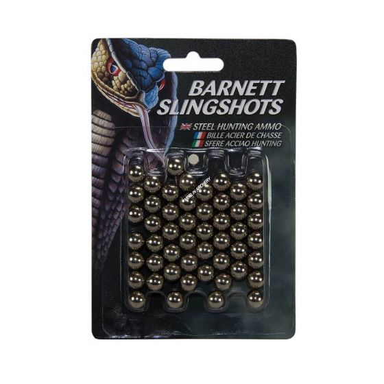 Barnett Steel Slingshot Ammo - 50pk