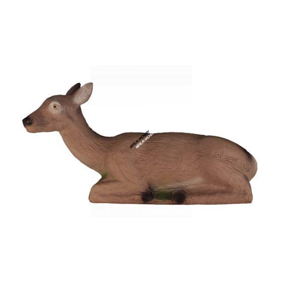 Eleven 3D Target - Lying Deer Dark