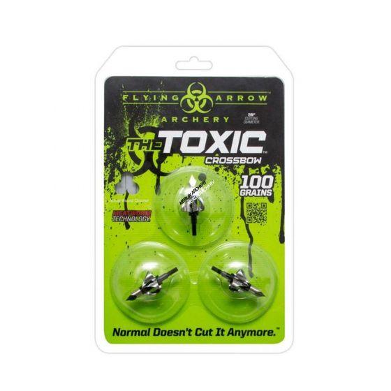 Flying Arrow Toxic Broadhead - 100g