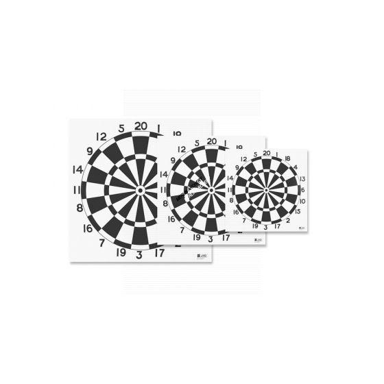 JVD Archery Darts Target Face - 80cm