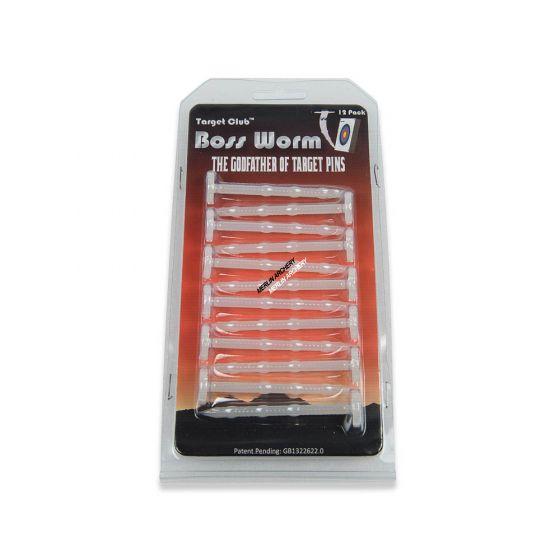 Boss Worm Target Pins