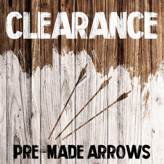 Clearance - Pre-made Arrows