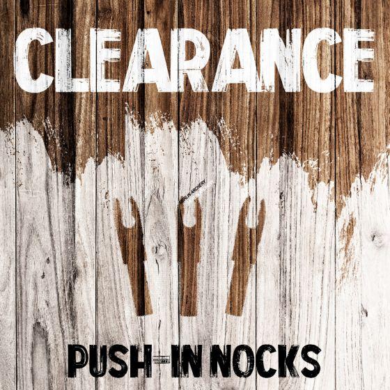 Clearance - Push-in Nocks