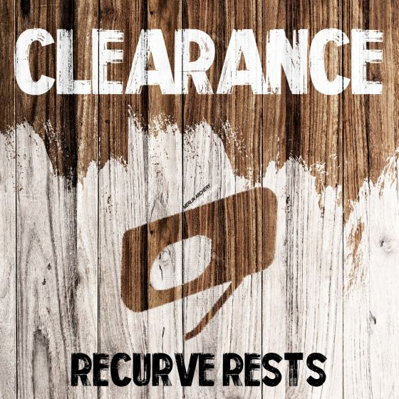 Clearance - Recurve Rests