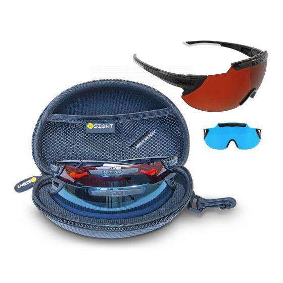 X-Sight 2RX Shooting Glasses - Archery Starter 2 Lens Set