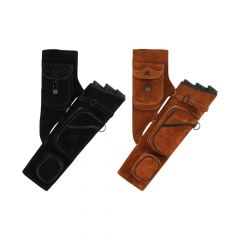 Bearpaw Traditional Side Quiver With Tubes