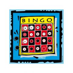 Krueger Bingo Game Target Face
