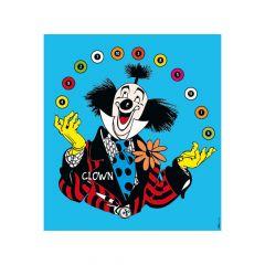 Krueger Clown Target Face