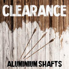 Clearance - Aluminium Shafts