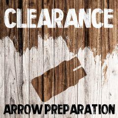 Clearance - Arrow Preparation