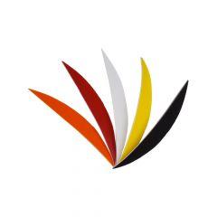 "Bearpaw Feathers RW 4"" Banana - Solid Colour"