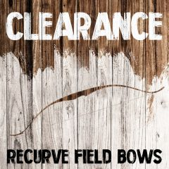 Clearance - Recurve Field Bows