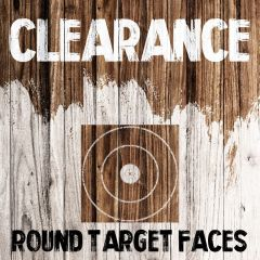 Clearance - Round Target Faces