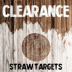 Clearance - Straw Targets