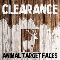 Clearance - Animal Target Faces