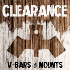 Clearance - V-Bars & Mounts