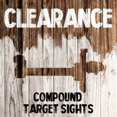 Clearance - Compound Target Sights