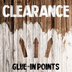 Clearance - Glue-in Points