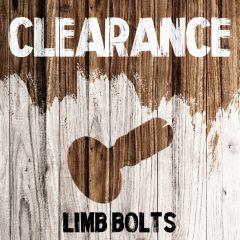 Clearance - Limb Bolts