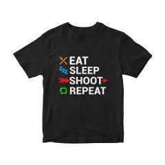 MAC Eat Sleep Shoot Repeat T-Shirt