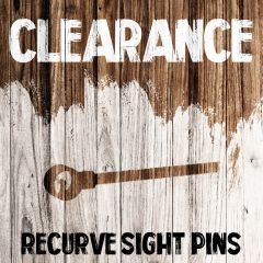 Clearance - Recurve Sight Pins