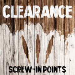 Clearance - Screw-in Points