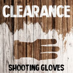 Clearance - Shooting Gloves