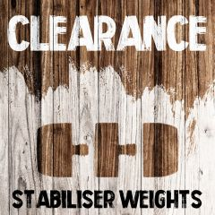 Clearance - Stabiliser Weights