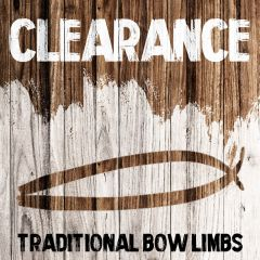 Clearance - Traditional Bow Limbs