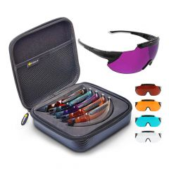 X-Sight 2RX Shooting Glasses - Flux 5 Lens Set