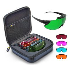X-Sight 2RX Shooting Glasses - Vivid 5 Lens Set