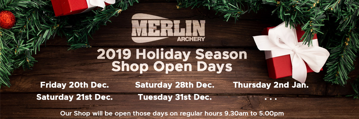 2019 Holiday Season Shop Open Days