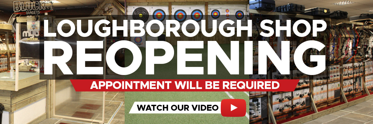 Merlin Archery Loughborough Shop Reopening