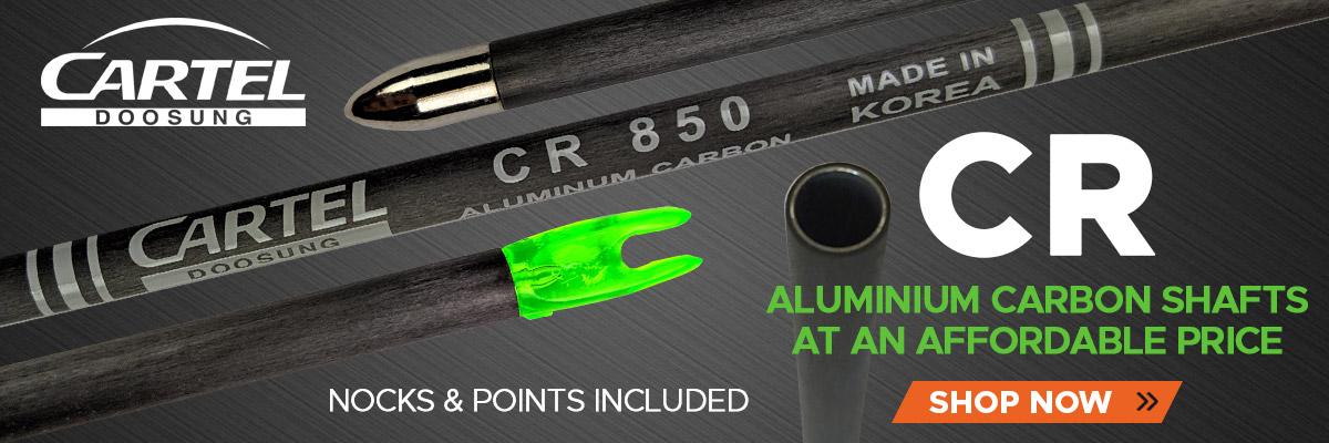 Cartel CR Carbon Aluminium Shafts