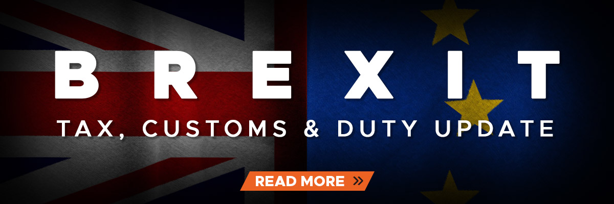 Brexit - Tax, Customs & Duty Update