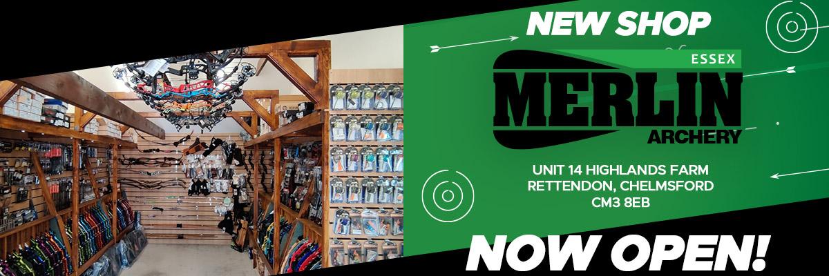 Merlin Essex Shop Now Open
