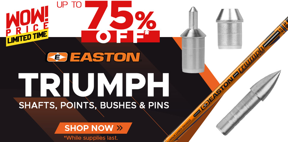 Easton Triumph - Up To 75% Off