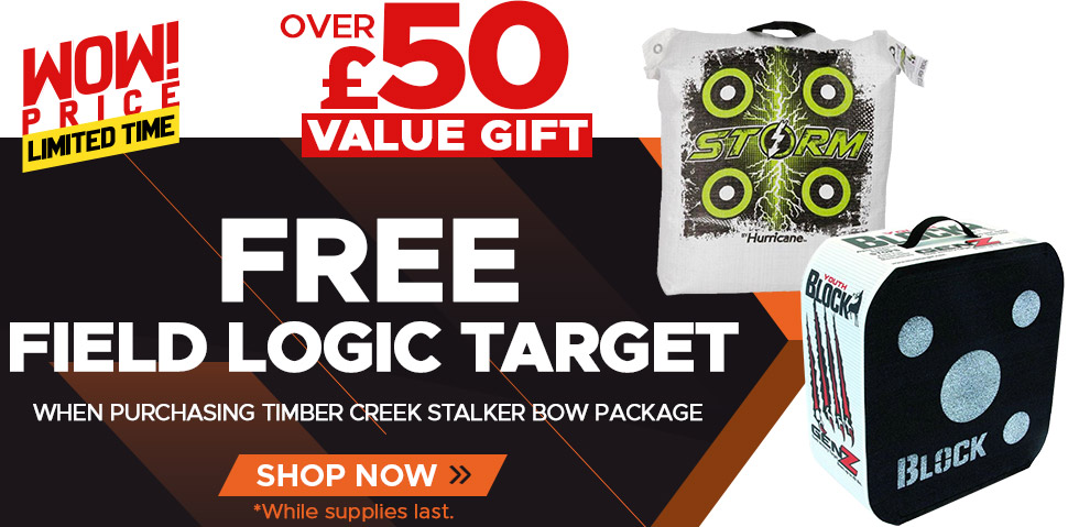 Free Field Logic Target with purchase