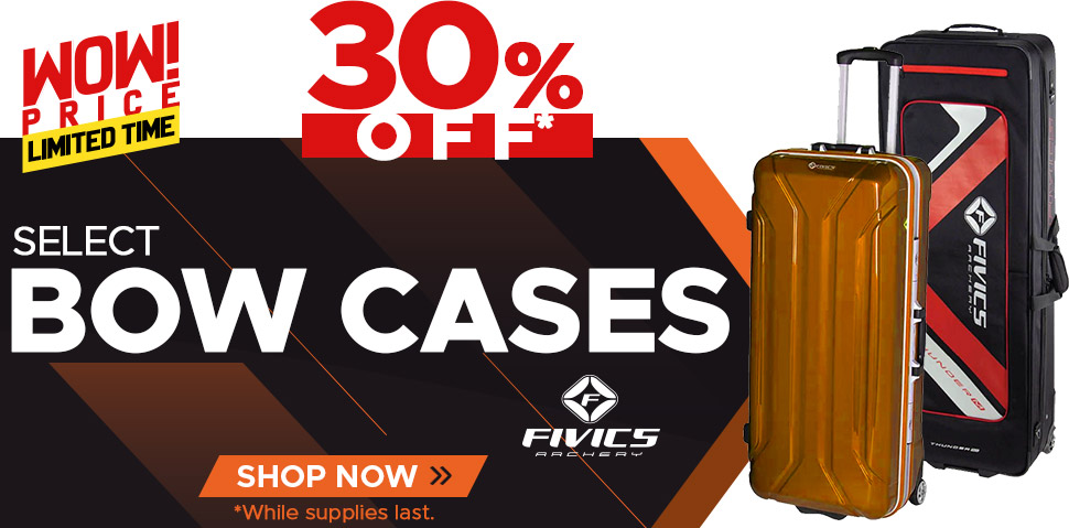 Select Fivics Bow Cases - 30% Off