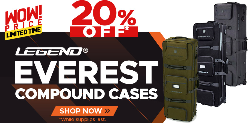 Legend Everest Compound Cases - 20% Off