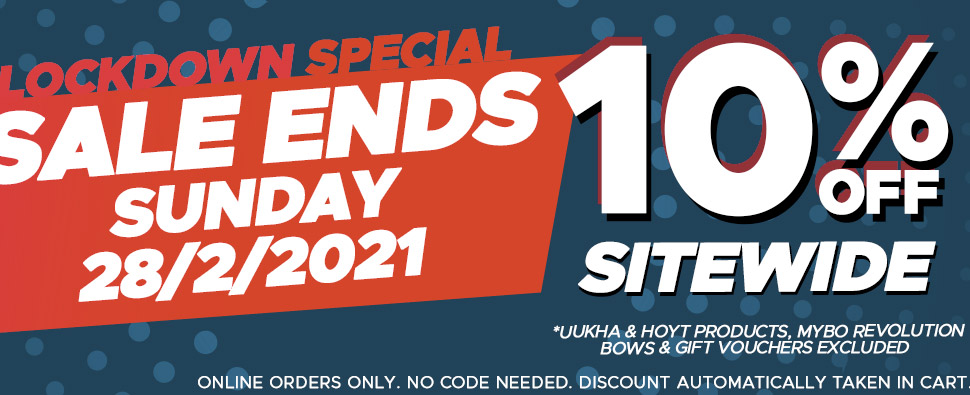 Lockdown Special - 10% OFF Sitewide. No Coupon Needed