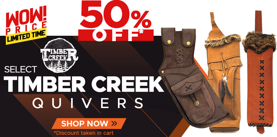 Select Timber Creek Quivers - 50% Off
