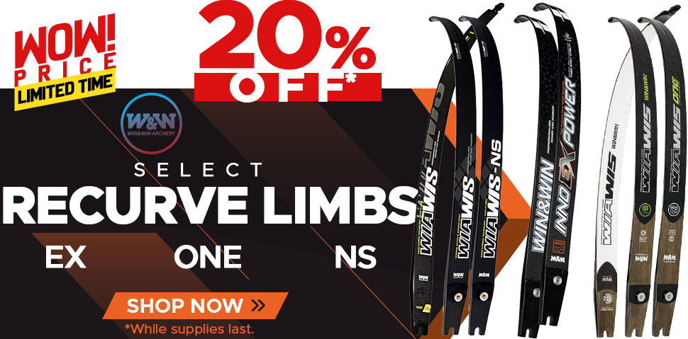Select Wiawis Limbs - EX ONE NS - 20% Off