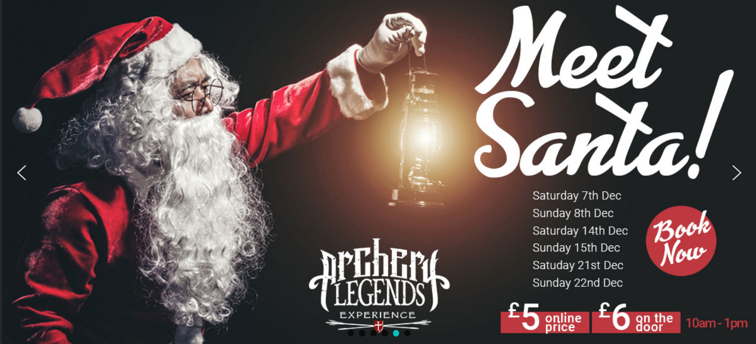 Meet Santa at Archery Legends